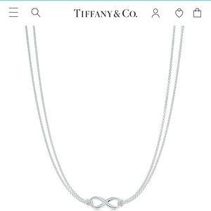 Like New Tiffany & Co. Infinity Necklace